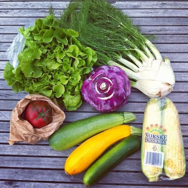 овощи в меню сыроеда