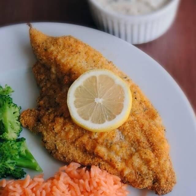 рыбное блюдо и вегетарианство