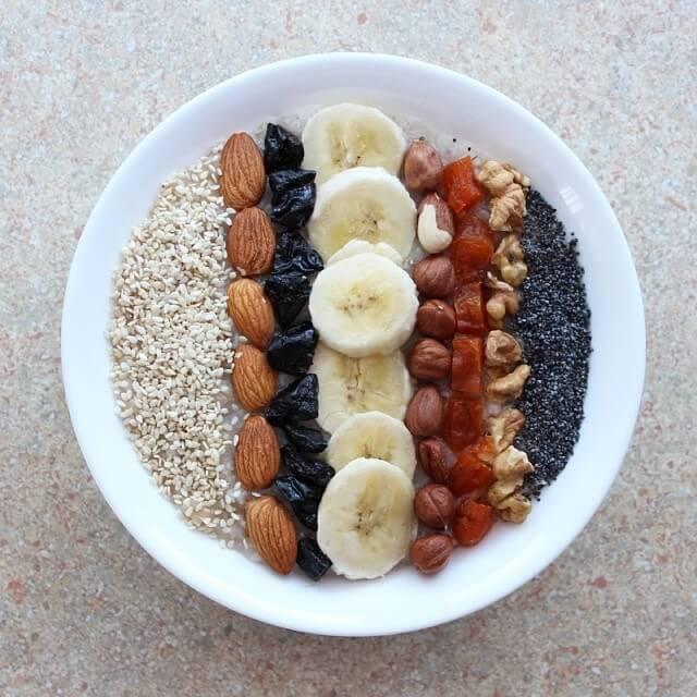 Что едят сыроеды на завтрак