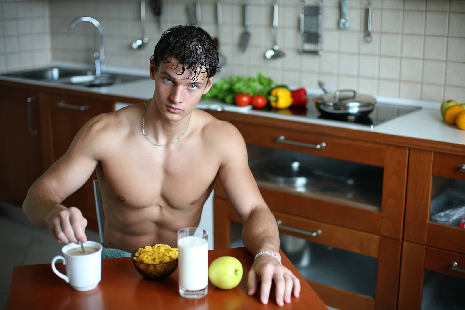 Галерея кухни фото мужик 10