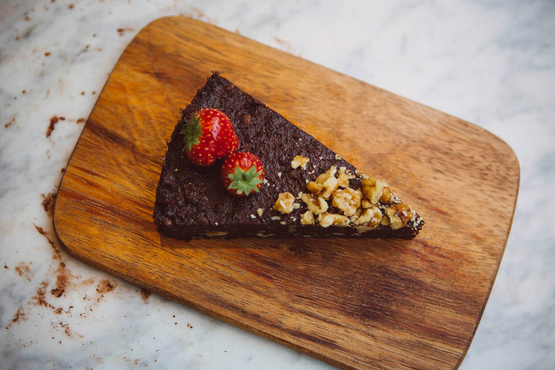 рецепт пирога из фиников и орехов