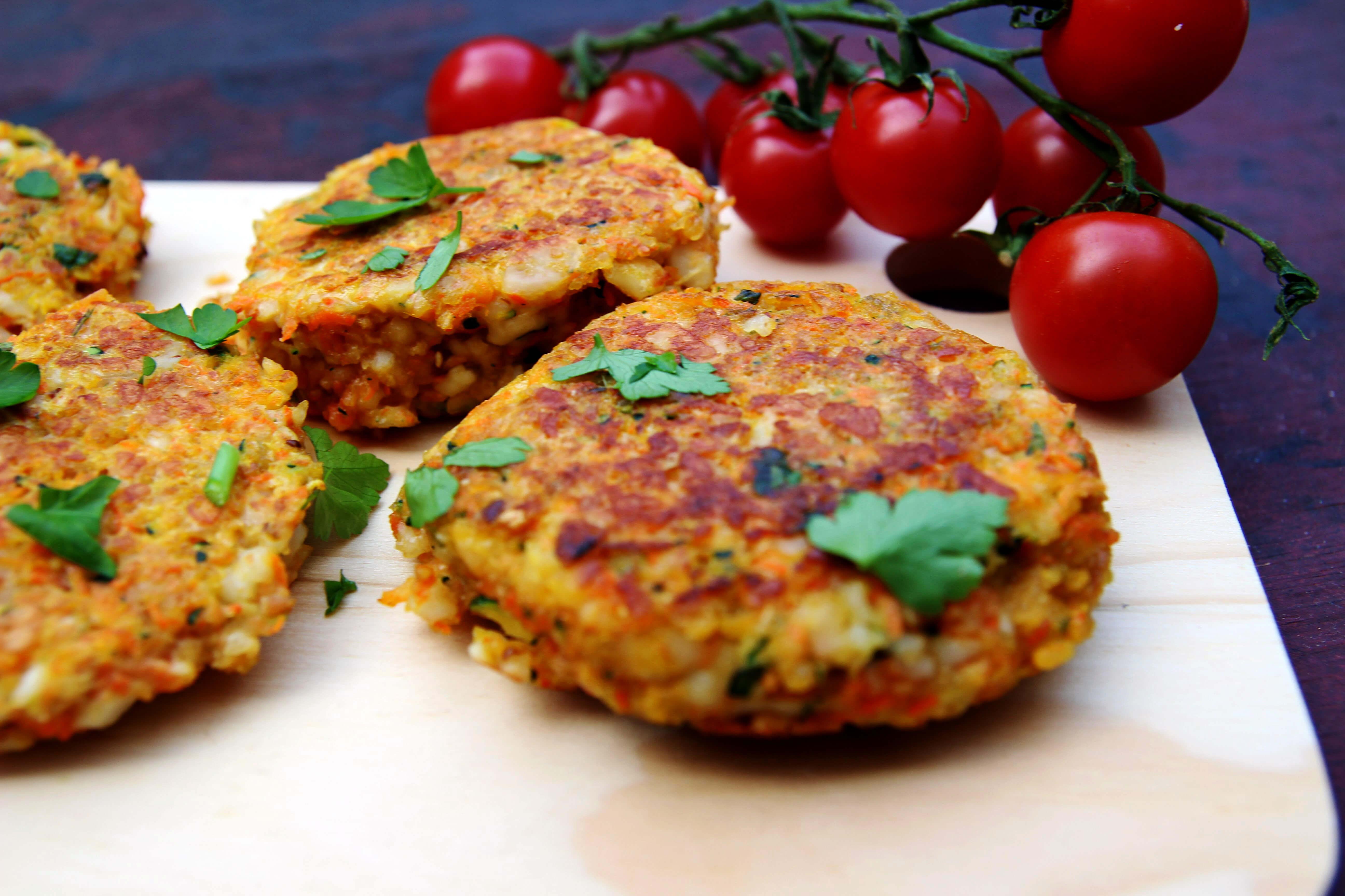рецепт вегетарианских котлет