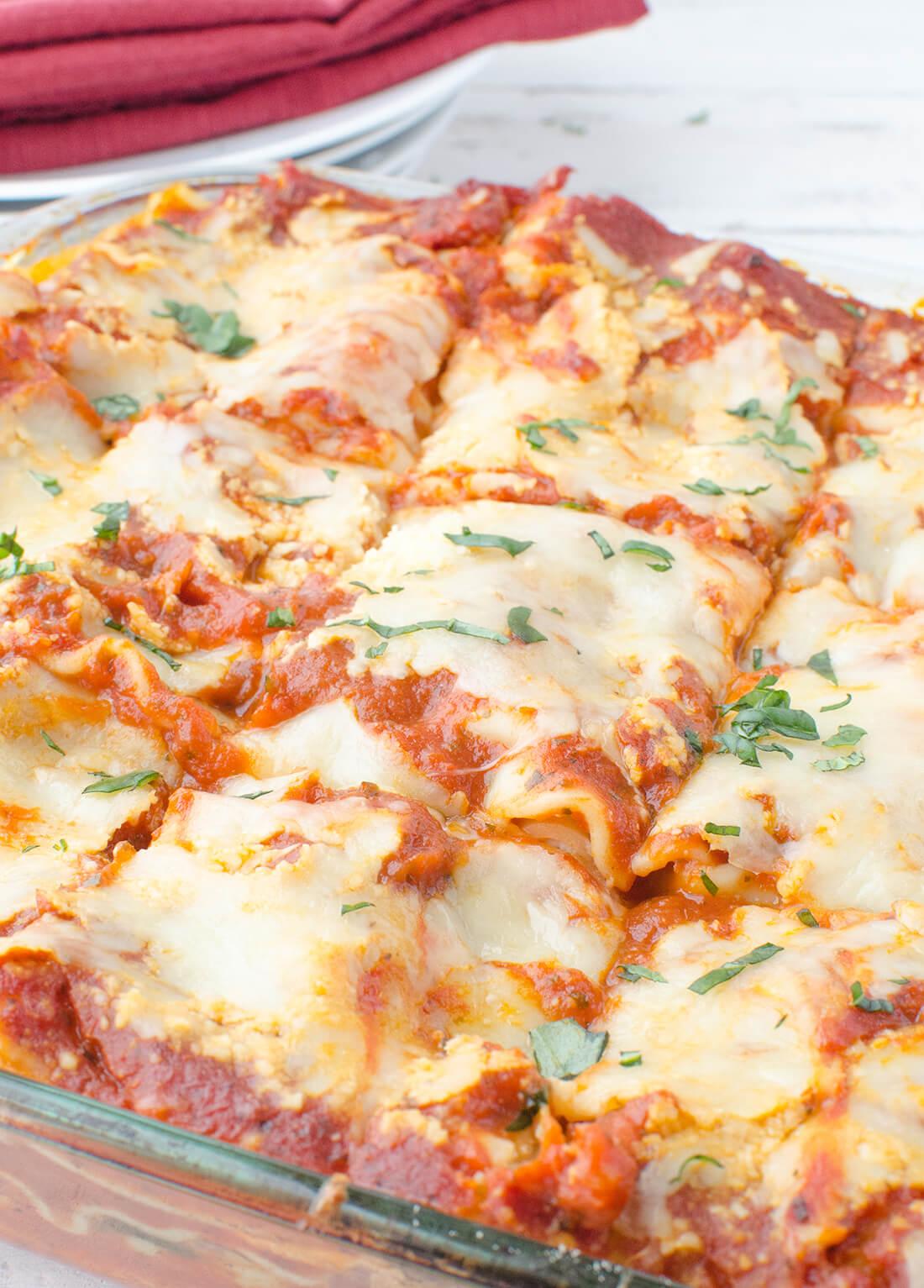 рецепт вегетарианской лазаньи