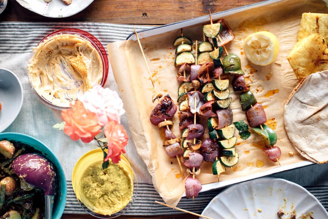 Рецепт вегетарианских шашлыков