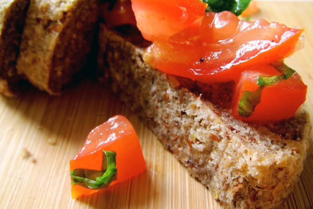 рецепт сыроедческих хлебцев