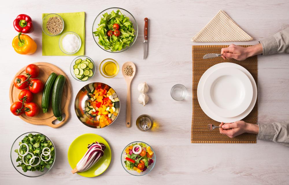 Вегетарианская диета: меню на неделю